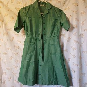 1950s/60s vintage girl scout uniform